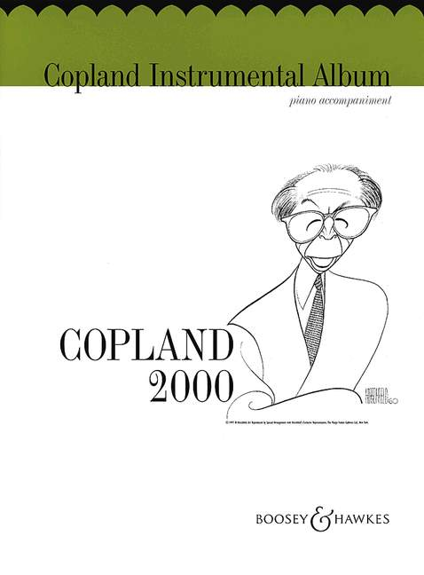Copland for oboe image